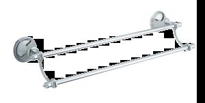 Tradition Zubehör Doppelhandtuchhalter 556 mm