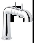 2-grip basin mixer in chrome