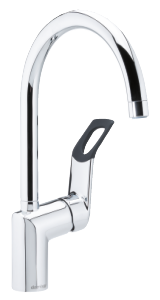 Clover Easy Kitchen Mixer (Chrome/Black)