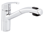The Damixa Rowan kitchen mixer in chrome