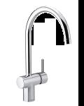 Damixa Osier one-grip kitchen tap in chrome