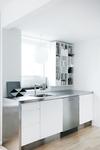 A-pex kitchen tap in chrome