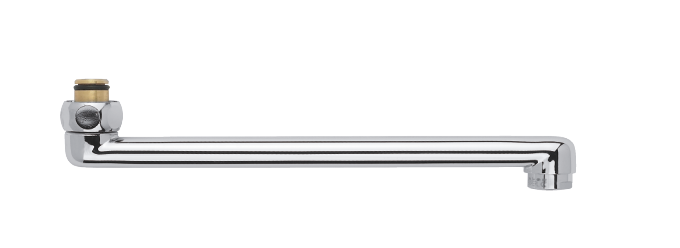 Draaibare uitloop 250 mm