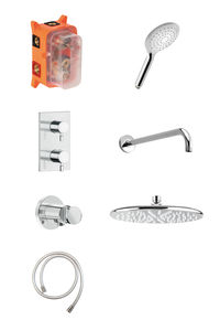 Bell HS 1 - Complete concealed shower system (Chrome/Silverhose)