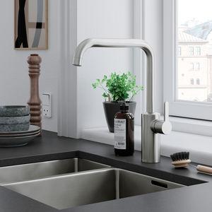 Silhouet Kitchen Mixer (Steel PVD)