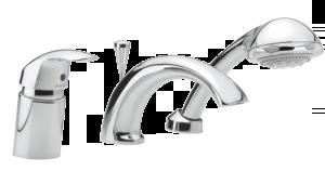 Jupiter 3-Hole Bath Shower Mixer