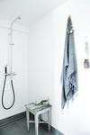 Dansk designad termostatblandare i krom