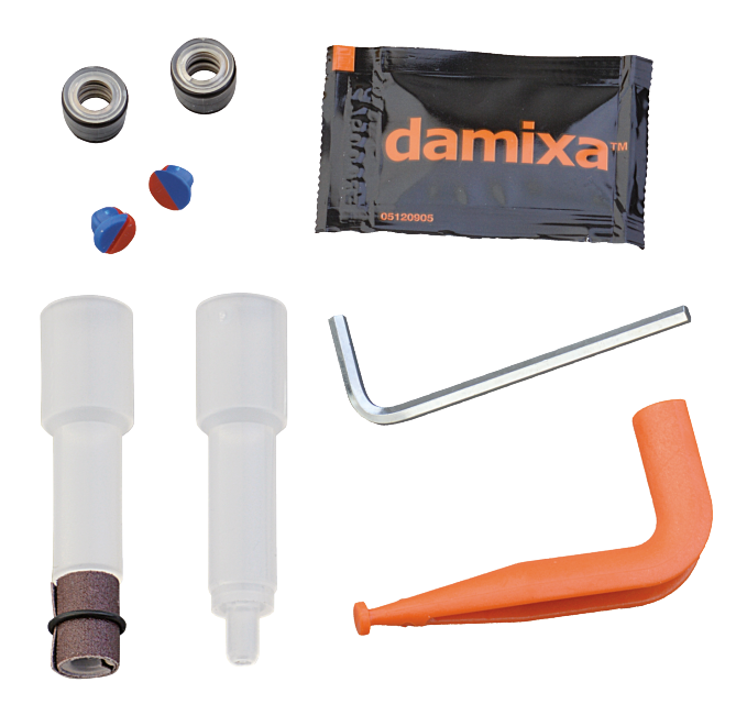 Repair set for discontinued 1-grip mixers