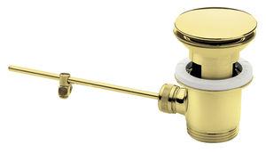 Badeværelsestilbehør Komplet bundventil (Poleret messing PVD)