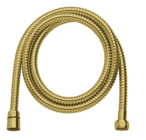 Shower Accessories Shower Hose Metal 1500 mm (Brushed Brass PVD)