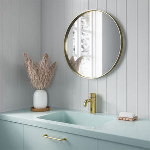 Silhouet Touchless basin tap (Brushed Brass PVD)