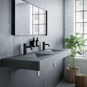 Silhouet Touchless basin public (Matt black)