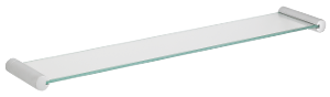 Badeværelsestilbehør Glashylde