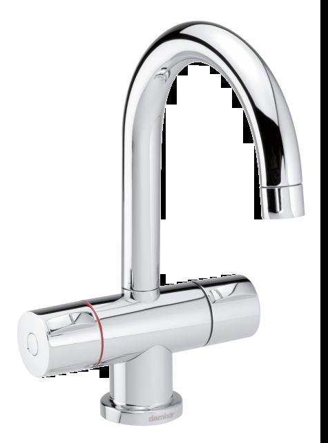 Damixa Titan 2-grip danish designed basin mixer in chrome.
